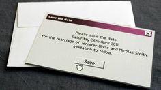 Geeky Wedding Invites!