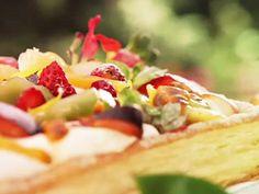 Recetas :Narda Lepes| Tarta de hojaldre y frutas | Utilisima.com