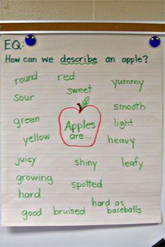 Apple adjectives.