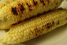 Things to Grill in Foil:  Mexican Corn  Melt ¼ pound butter with 2 tablespoons chili powder, ½ teaspoon garlic salt, and juice from ½ lime. Brush over 8 ears corn and wrap in foil. Grill over medium heat for 15 minutes turning 3 to 4 times.