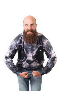 CoolCat Sweatshirt by Beloved Shirts