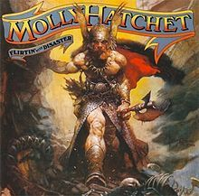 MH's second album cover, cover art by Frank Frazetta