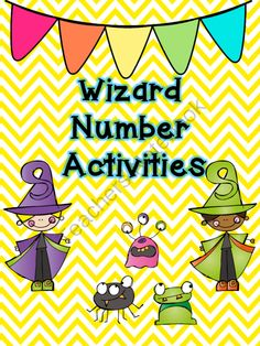 Counting Wizards Activities from Fun in ECSE on TeachersNotebook.com -  (48 pages)  - Wizard themed counting activities for numbers 1-20.