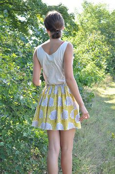 Pretty + Full Skirt « Sew,Mama,Sew! Blog