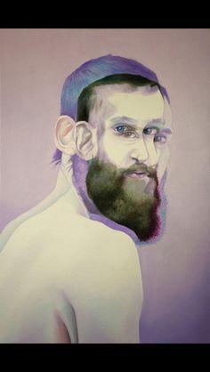 Shaina Craft; pastel drawing