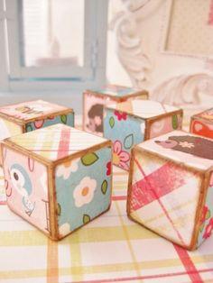 wooden blocks!