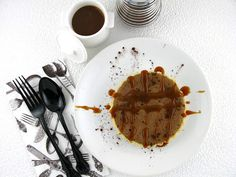 Life's a feast: Baked Chocolate Tartlets with Salted Butter Caramel Sauce