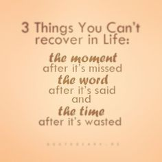 Quote of the day #quote #moments #words #life #time #wasted