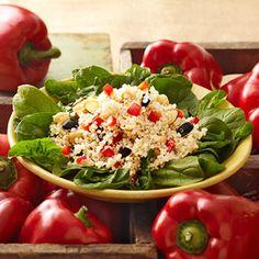 Warm Quinoa and Chickpea Salad