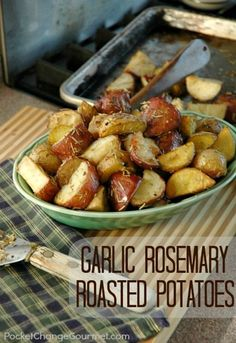 Garlic Rosemary Roas