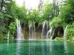 The Plitvice Lake and National Park, Croatia