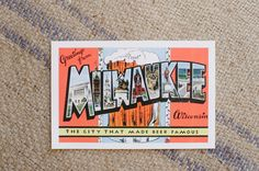 milwaukee post cards