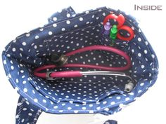 Nursing bag for stethoscope Handmade by ippoippo on Etsy