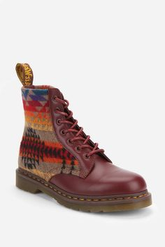 Dr. Martens X Pendleton 8-Eye Boot  #UrbanOutfitters