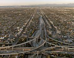 mpdrolet:    Highway #5, Los Angeles, CA, 2005  Edward Burtynsky