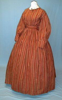 Civil War era cotton dress.