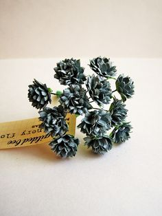 . idea, flower bouquets, dahlias, blue petit, flowers, dahlia vintag, millineri flower, blues, vintage style