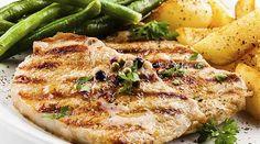 #Pollo a la parrilla en salsa de #albahaca y limón. Saboréalo en familia cualquier día de la semana.