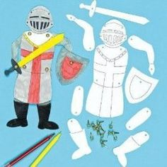 Design your own medieval knight - but maybe lose the sword