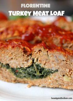Florentine Turkey Meat Loaf @Jen (Balancing Beauty and Bedlam blog
