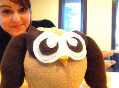 Super Cute! Owly Plush made by @Jemco Logics | Grand Rapids Web Design and Development!