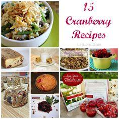 15 Cranberry Recipes
