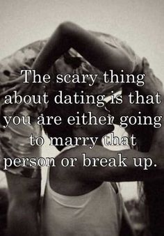 the scary thing