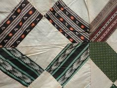 Gorgeous 1860 70's Quilt Top Must See Fabrics New England   eBay seller rags