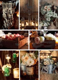 Rustic party ideas