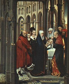 The Presentation in the Temple - Hans Memling