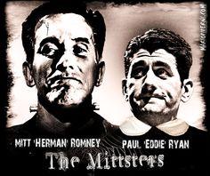 Mitt Romney / Paul Ryan  -  The Mittsters   :    http://mariopiperni.com/