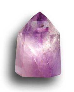 Améthyste - cristal retaillé 241,4 g.