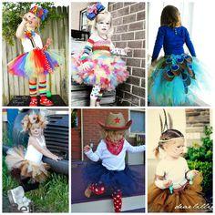 disfraces originales para niños con tul