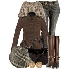 fashionista, burberry, brown cloth, outfit, jackets, closet, polyvore, burberri style, jenn style