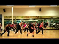 Zumba video- Right Round by Flo Rida.  I don't usually like zumba because I just stand there looking like an idiot trying to figure it out.....but if I practice the choreography then I think it would be fun....like a dance party :)