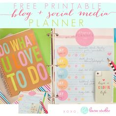 Love this! Free Blog + Social Media Calendar :: Laura Winslow Photography