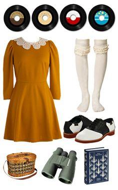 moonrise kingdom costume outfit inspiration!