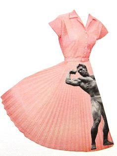 catwalk #collage #illustration