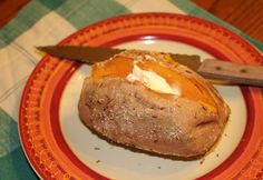 Denises Baked Sweet Potatoes