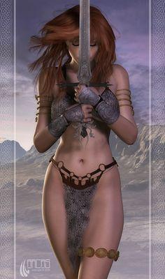 Red Sonja by Arcas-Art.deviantart.com