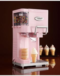 SHUT THE FRONT DOOOOOR!!!!!!!!!!!!!! Cuisinart Soft Serve Ice Cream Maker