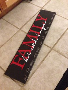 family birthdays, birthday calendar, famili birthday, custom famili