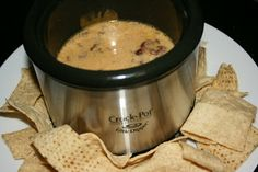 A Year of Slow Cooking: CrockPot Bacon and Cheese Dip Recipe