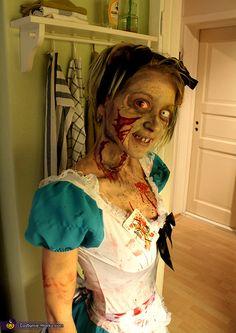 Disfraces de Halloween: Alicia en Zombieland.