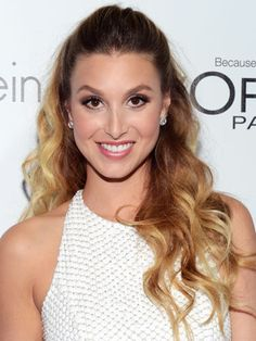 Famous Actress Whitney Port with her Fresh Sugar Lip Balm.