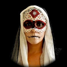 Skull Mask Dia De Los Muertos