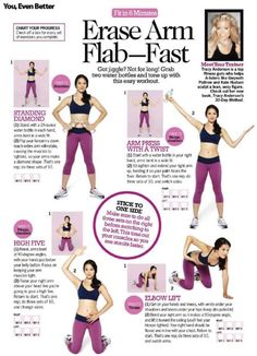 "Between these exercises and Slimpressions arm slimmers (""The Haves"" and ""The Have Nots""), wave goodbye to arm jiggles!"