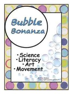 Break the BACK-To-SCHOOL Ice and get kids moving, laughing and learning with these FUN activities––25 pages!  LITERACY includes an impressive  BUBBLE BOOK and a Science JOURNAL. Bubble art, movement, experiments, PRINTABLES, and games. $