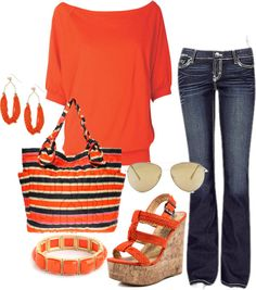 jean, day outfits, casual clothes, summer 20fashion, happy colors
