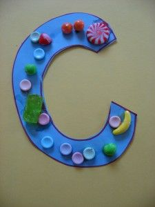 Letter Of The Week c.Great ideas for both upper and lower case letters!